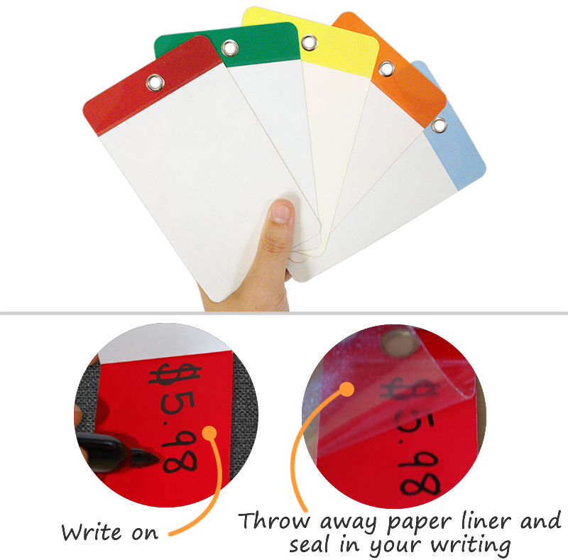 Blank Self-Laminating Tags | Laminated Tags