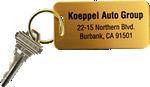 Brass Key Chains