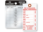 fire extinguisher inspection tag template - fire extinguisher tags material features guide video