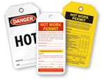 Hot Work Tags