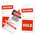Multi-Part Inspection Tags