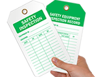Safety Inspection Tags