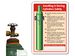 Safe Handling and Storage Signs
