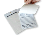 Self-Laminating Inspection Tags