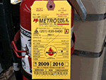 Custom Fire Extinguisher Tags