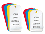 Custom Self-Laminating Tags