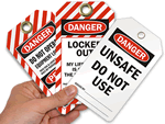 Danger Lockout Tags