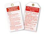 Fire Extinguisher Checklist Tags