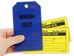 Custom Inspection Tags
