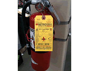 Custom Fire Extinguisher Tags & State-Specific Fire Tags