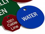 Custom Aluminum Valve Tags