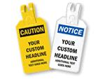 Custom Self-Locking Tags