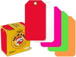 Fluorescent Plastic Tags in a Dispenser Box