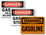 Gasoline Signs