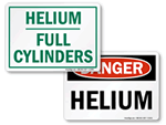 Helium Warning Signs
