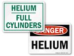 Helium Warning Signs