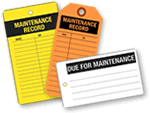 Maintenance Tags