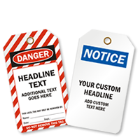 Safety Tag Designs