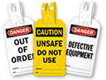 Self-Locking Safety Tags