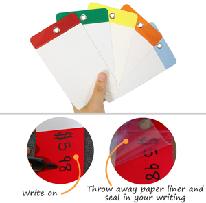 Blank Self-Laminating Tags