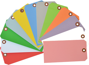 Colored Tags | Blank Colored Tags