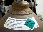 Gas Cylinder Signs & Labels
