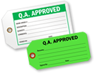 QA Approved Tags
