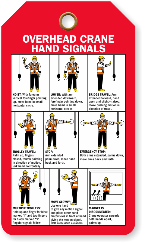 overhead crane hand signals pdf