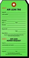 Air Leak Repair Tag