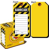 Barricade Tag in a Box
