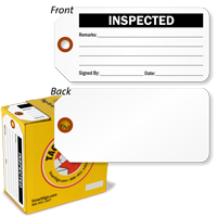 Inspected Inspection Tag-in-a-Box with Fiber Patch
