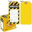 Barricade Tag in a Box