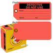 Defective Do Not Use Inspection Tag-in-a-Box