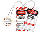 2-Part Safety Lockout Tags