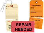 Custom Repair Tags