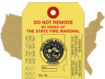 Custom Fire Extinguisher Tags & State-Specific Tags for an effective Fire Extinguisher Maintenance Program.