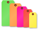 Blank Fluorescent Tags