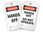 Hands Off Lockout Tags