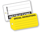 Instructions Tags