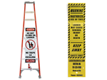 Ladder Barrier Shield Kit