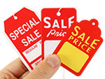 Sale Price Tags & Discount Tags | Price Tags For Retail - Sales Tags