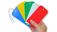 Plastic Identification Tags
