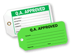Q.A. Approved Tags