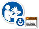 Read Manual Labels