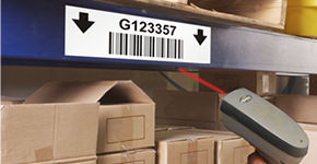 Reflective Inventory Barcode Labels