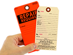 Industrial Repair Tags
