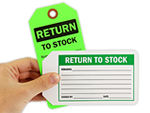 Return to Stock Tags