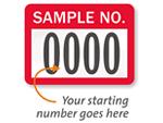 Sample Asset Labels
