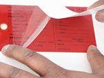 In-Stock Self-Laminating Tags