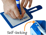 Self-Locking & Dry Erase Plastic Tags